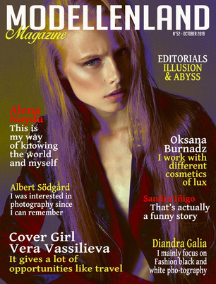 Interview: Cover girl (Issue52) Vera Vassilieva (France)