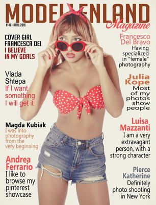 Cover Girl: Francesca Dei (Italy) (Issue46)