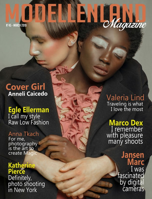Interview: Cover girl Anneli Caicedo (Denmark)
