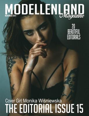 Interview: Model Monika Wiśniewska (Poland) Covergirl Editorial issue15