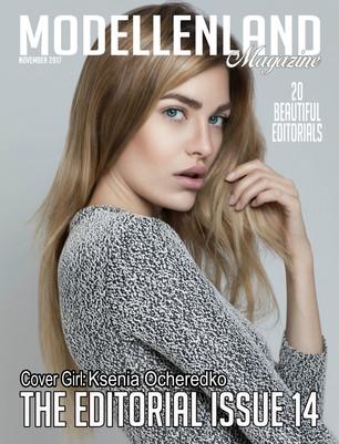 Interview: Model Ksenia Ocheredko (New York) Covergirl Editorial issue15