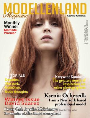Interview: Cover Girl Agatha Maksimova (France)