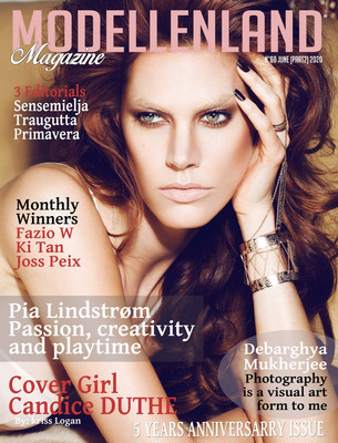 Cover Girl Candice Duthe (France)