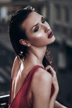 Liam Topham make-up: Monika Pierzcha