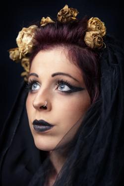 Model Lalla Morali-Make up Demonkey ARTWORK.