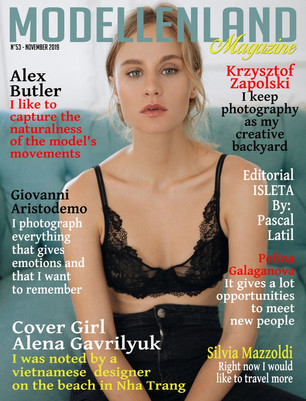 Interview: Cover Girl Alena  Gavrilyuk (Russia)