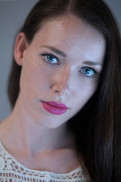 ''Blue eyed girl''