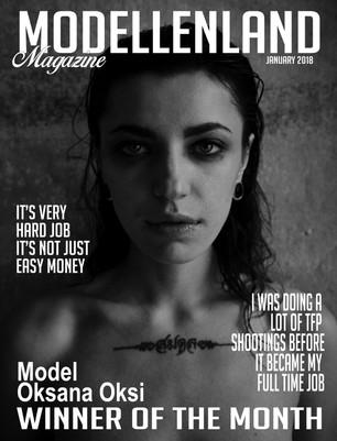 Interview: Model Oksana Oksi (Ukraine) Winner of the month