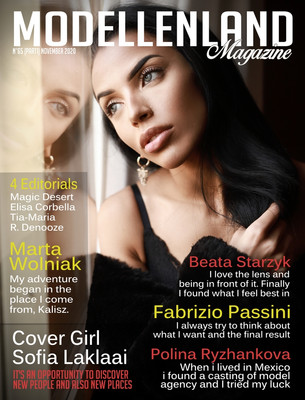 Interview: Cover Girl Sofia Laklaai (Italy)
