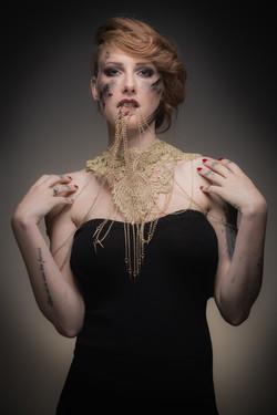 Model Megane Mertens - Make up Cindy Dorchies