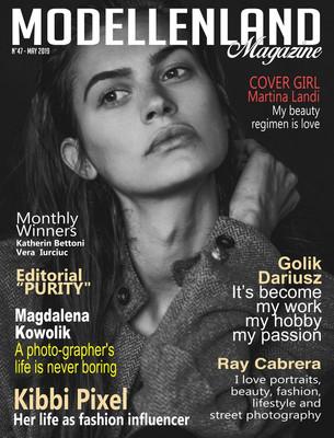 Interview: Cover Girl Martina Landi (Italy)