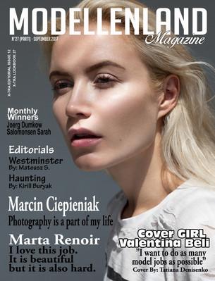 Interview Cover Girl: Valentina Beli (New-York)