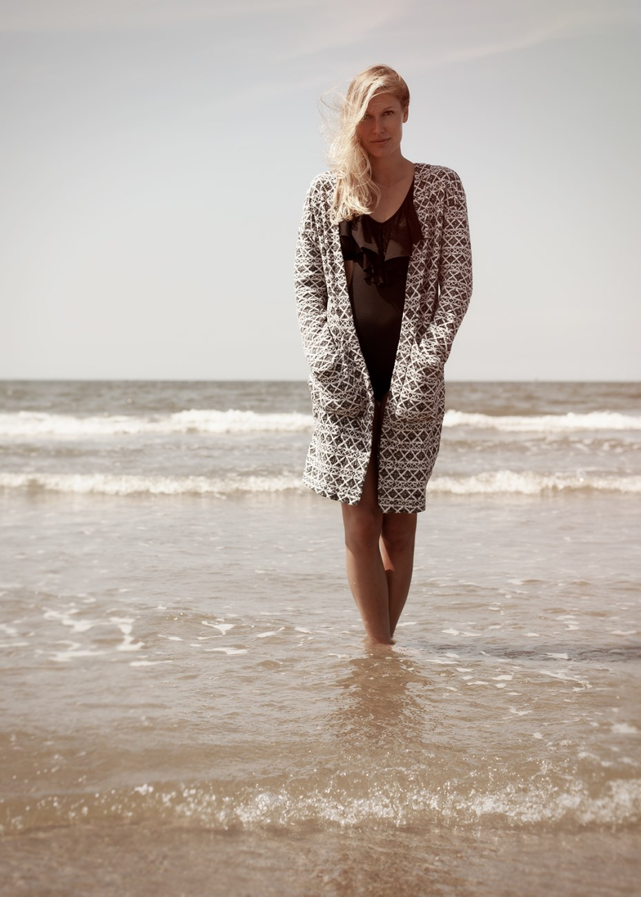 Model:  Ine Meester