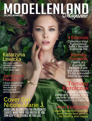 Interview: Cover Girl Nicole-Marie Jigalkine (Ukraine, Poland)