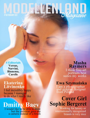 Cover Girl Sophie Bergeret (France)