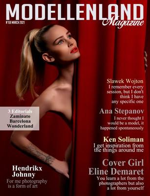 Interview: Cover Girl Eline Demaret (Belgium)