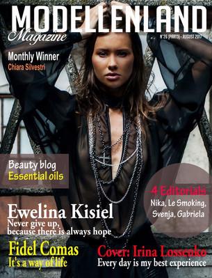 Interview: Cover Girl Irina Lossenko (Estonia)