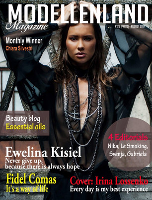 Interview: Cover Girl Irina Lossenko (Estonia)