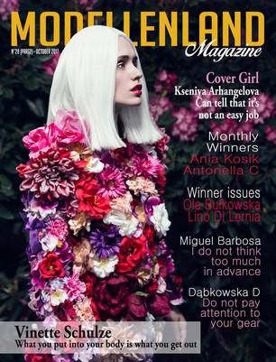 Interview: Cover Girl Kseniya Arhangelova (Poland)