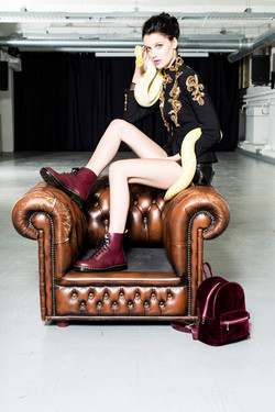 Evie Daniels, muah Ghizlane Mellouki, styling Elvi Roos