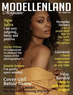 Interview: Cover Girl Betsie Dsane (London)