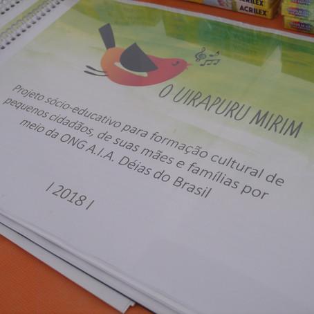"""O """"Uirapuru Mirim"""": Instituto Solvi e ONG Deias do Brasil pela Arte e Educação!"""