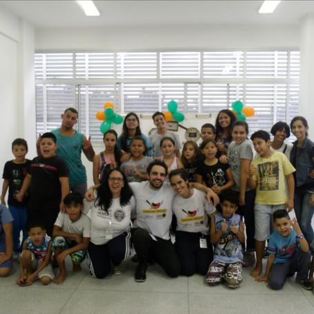 Uirapuru Mirim Caieiras | Aula inaugural com Padrinhos Culturais