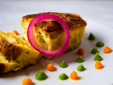 Djoumiam: Aujourd'hui la chef Elise vous propose un soufflé de manioc et petits légumes