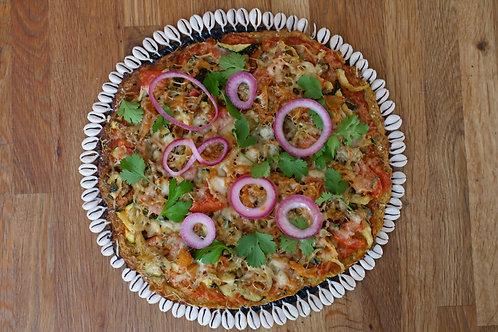 Pizza au Plantains