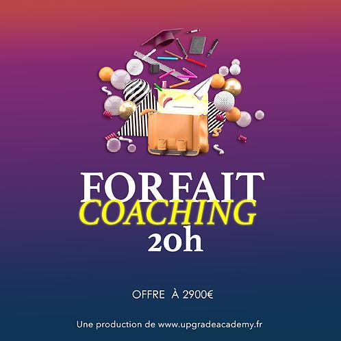 Coaching de 20h