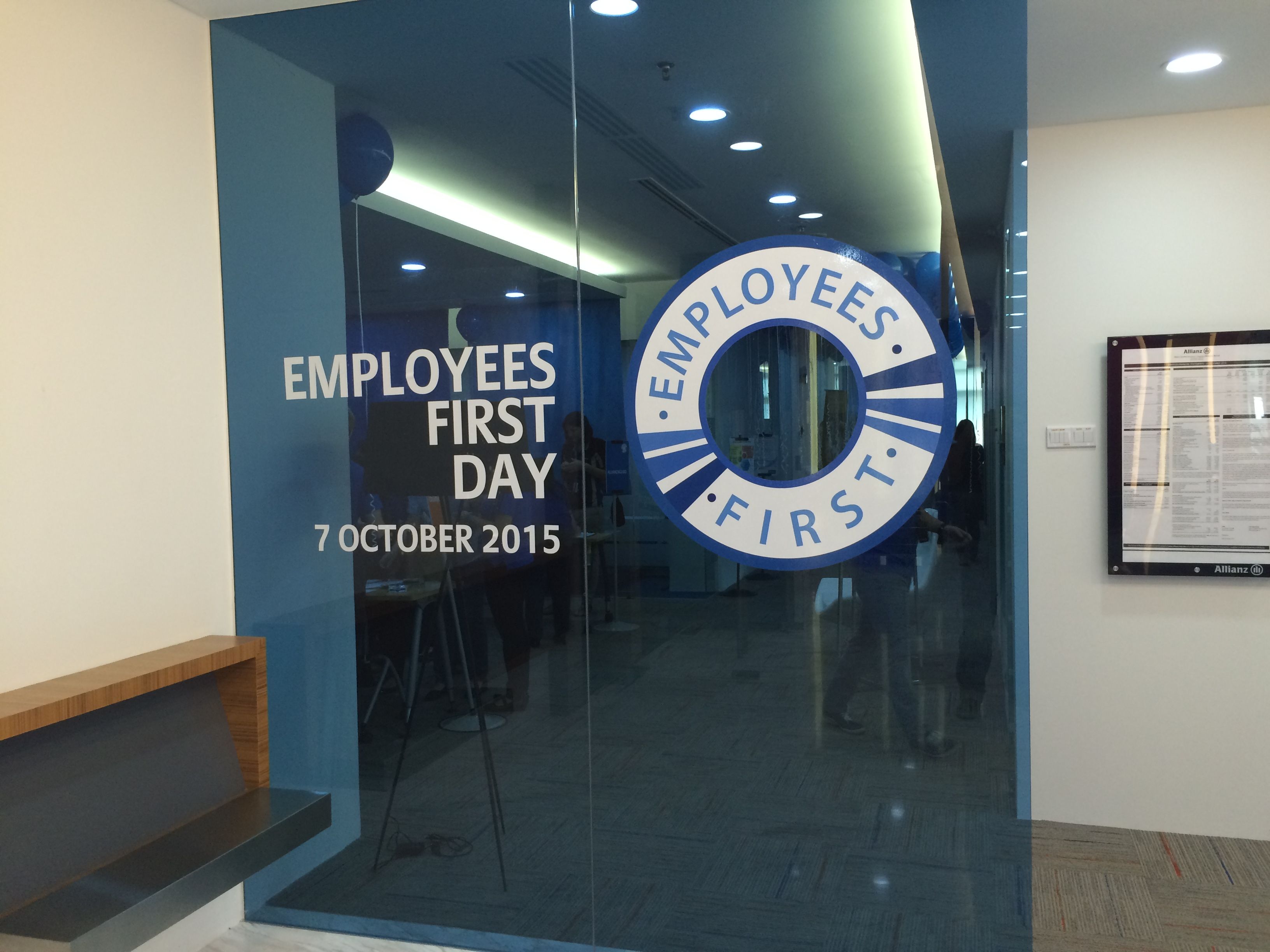 Allianz employees First Day