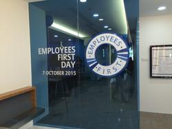 Allianz employees First Day