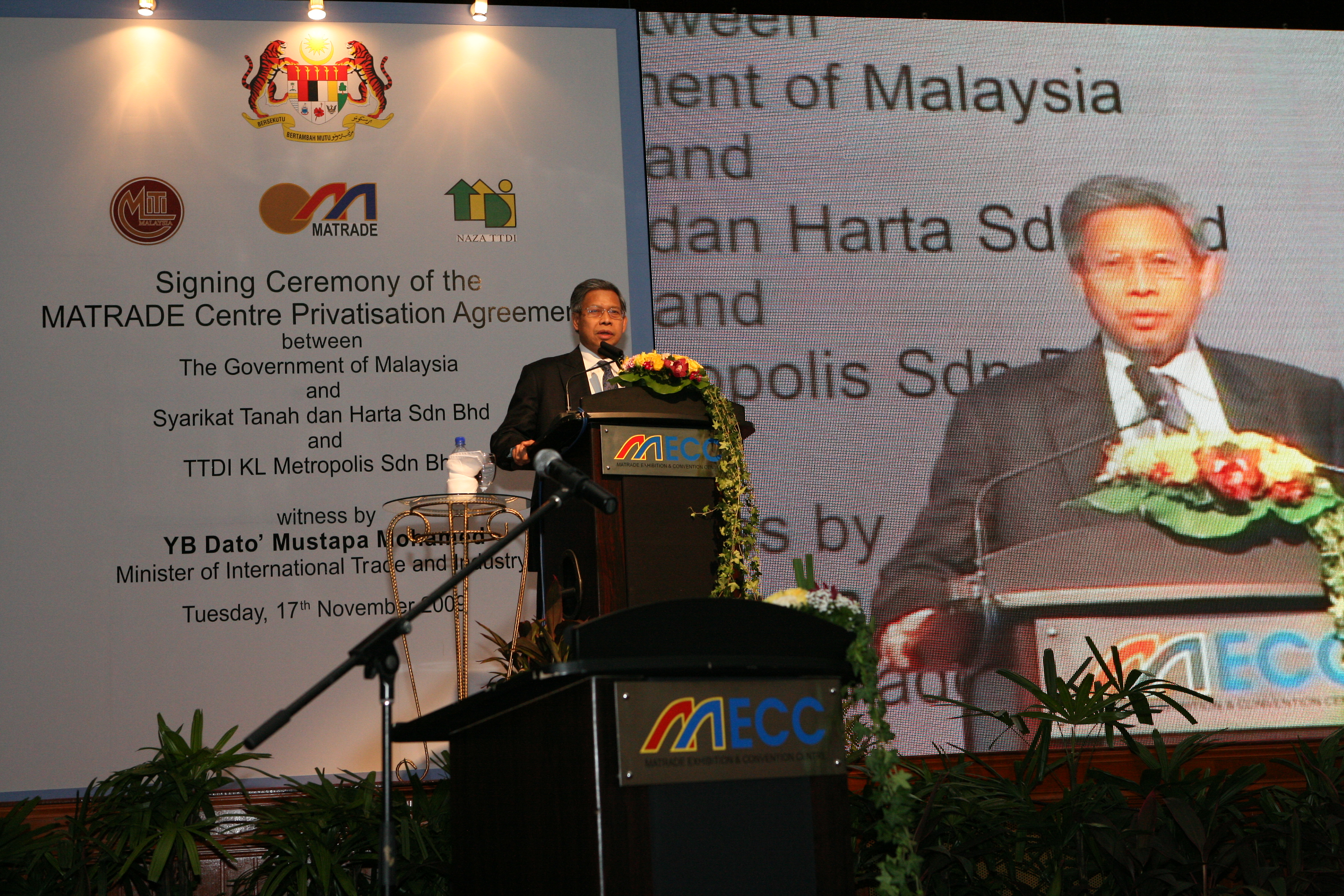 Matrade centre launch