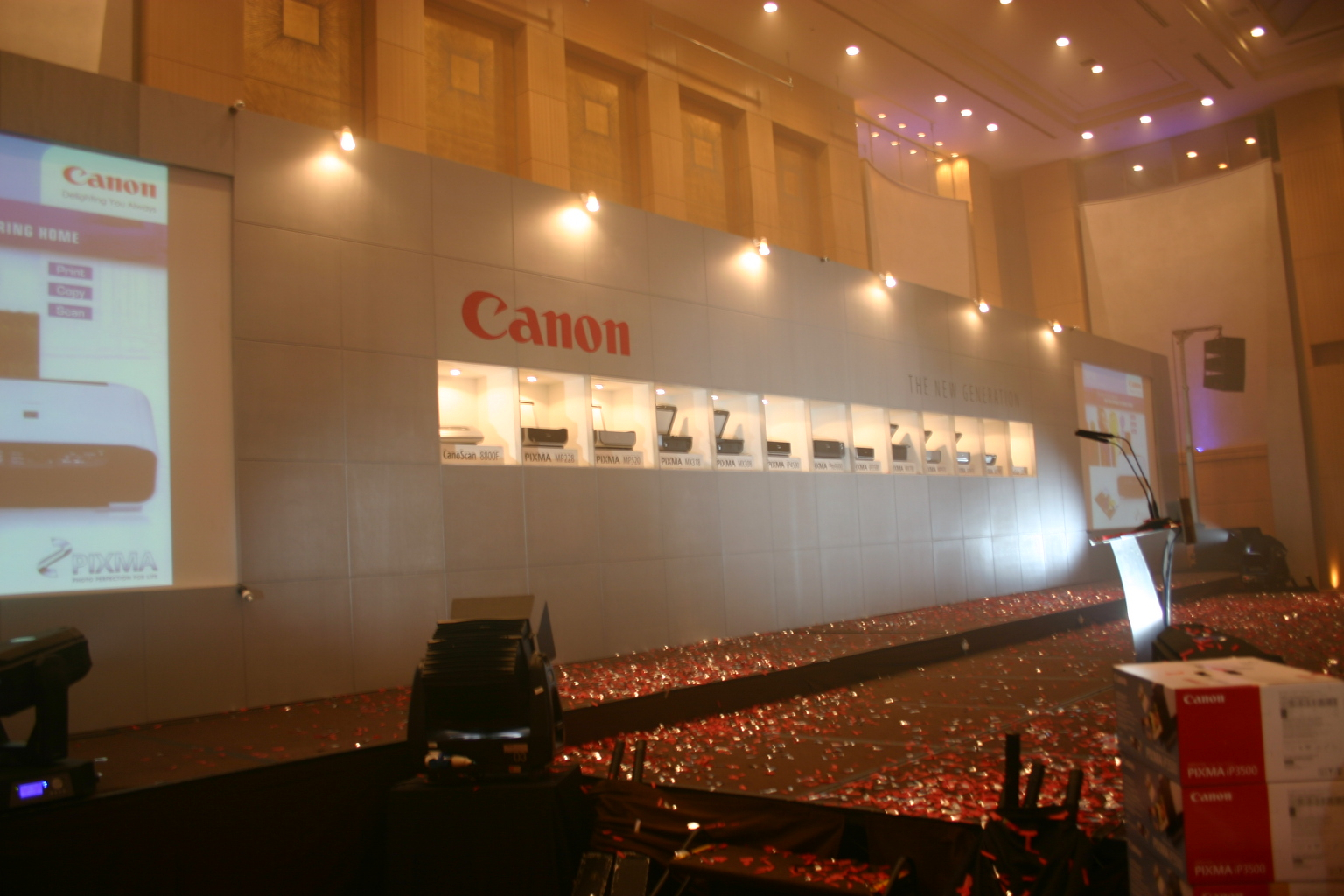 Canon printers launch