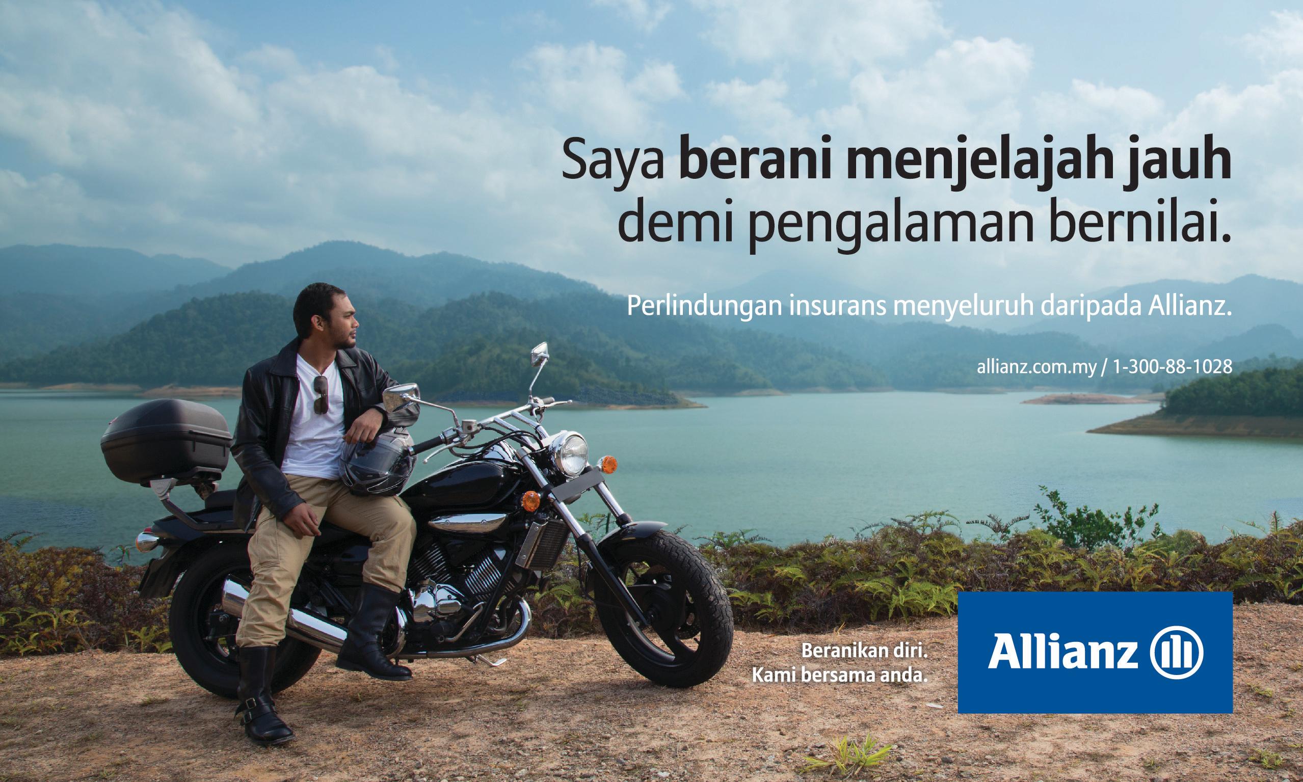 Dare to horizontal ad design 1