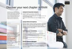 RAM recruitment ad
