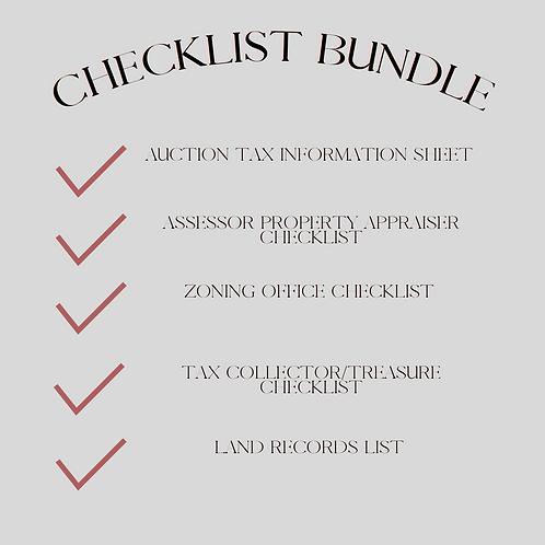 Bundle Checklist