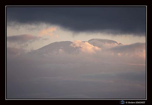 Kilimandjaro 5 - Cadre Paysage - Kia Moy