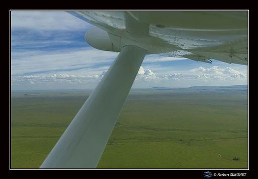 Vol avion Cadre Paysage - Serengeti 2302