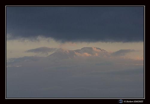 Kilimandjaro 1 - Cadre Paysage - Kia Moy