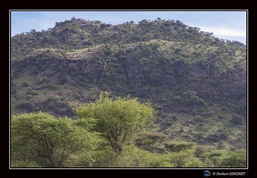 Monts rocheux - Cadre Paysage - Serenget