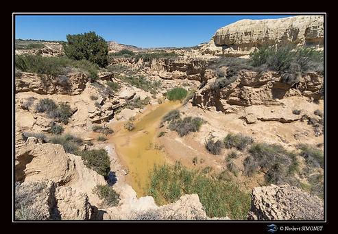 Cours d'eau dans canyon bis Paysage - Ba