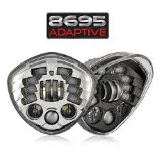 J.W. Speaker Adaptive 2 LED Diamond Style Headlight