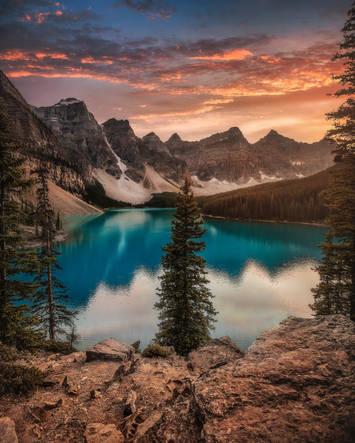 Moraine Lake Banff 2019