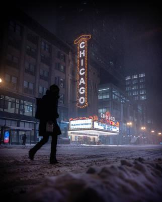 ChicagoTheaterBlizzardPersonWalking_2021