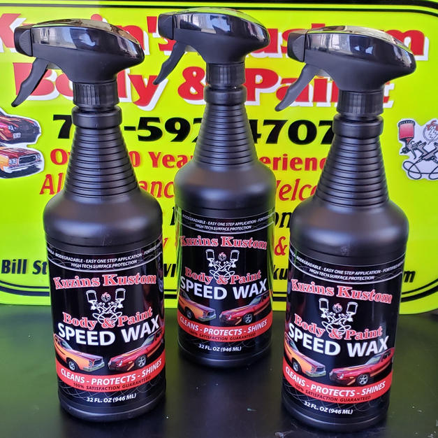 Kuzin's Kustom Speed Wax