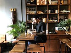 【Cafe'】Bamboo furnishing