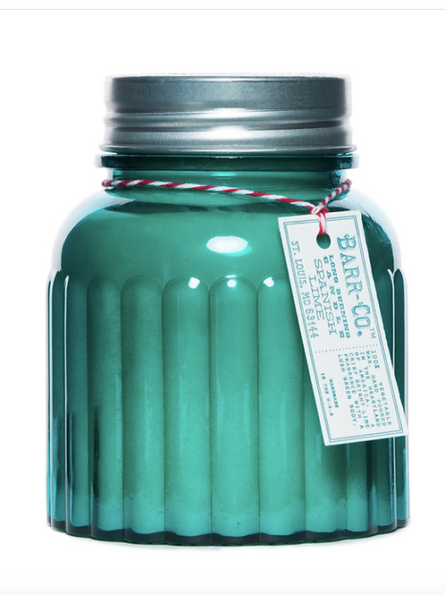 Spanish Lime Apothecary Jar Candle