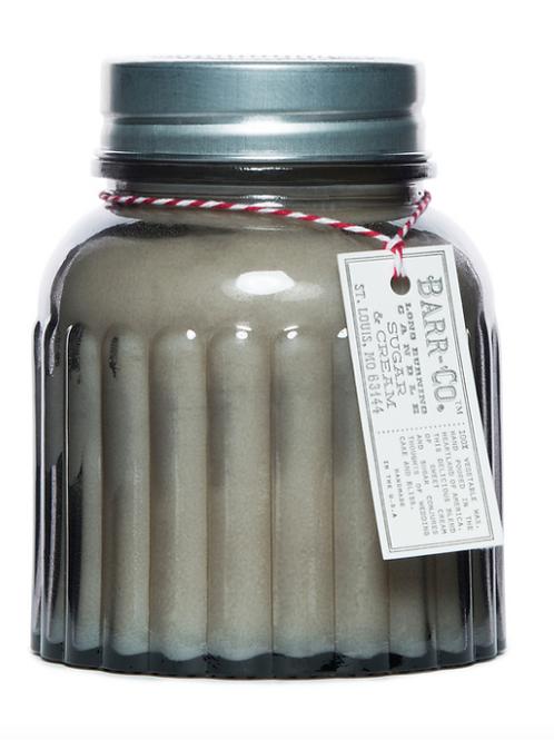 Sugar & Cream Apothecary Jar Candle