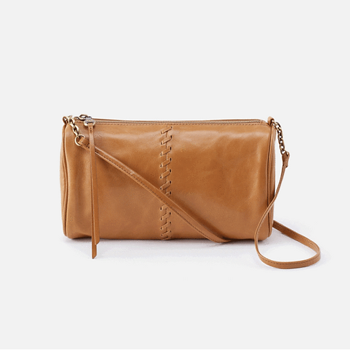Topaz Leather Crossbody